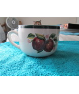 Casuals Made By China Pearl Soup Mug Bowl With Apples - $5.95