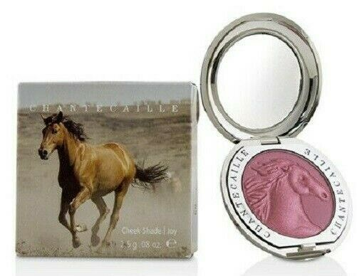 Primary image for Chantecaille Philanthropy Cheek Blush Shade JOY Wild Horse  .35 oz / 10g NIB