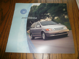 2001 Toyota Sienna Sales Brochure - $7.84