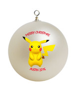 Pokemon pikachu christmas ornament thumbtall