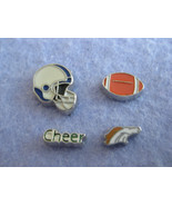 S79 Charms for Memory locket Floating Charms set of 4 charms DENVER BRONCOS - $1.20
