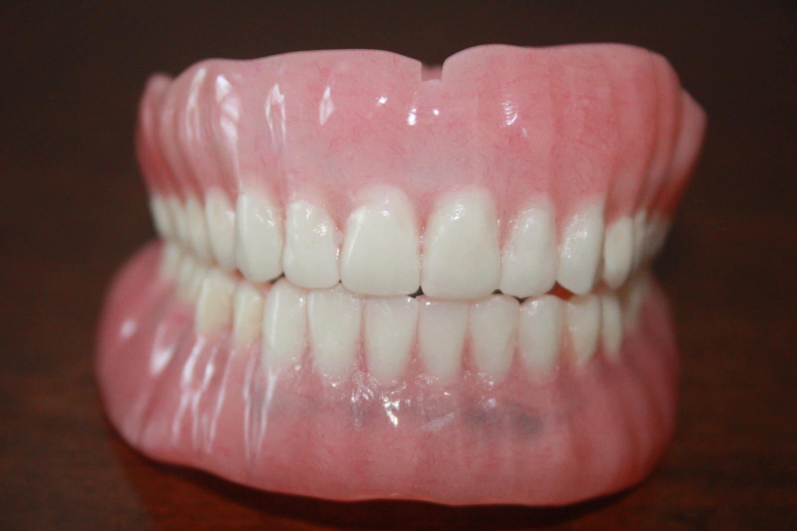 False Teeth Full Denture Set Full Upper And and similar items