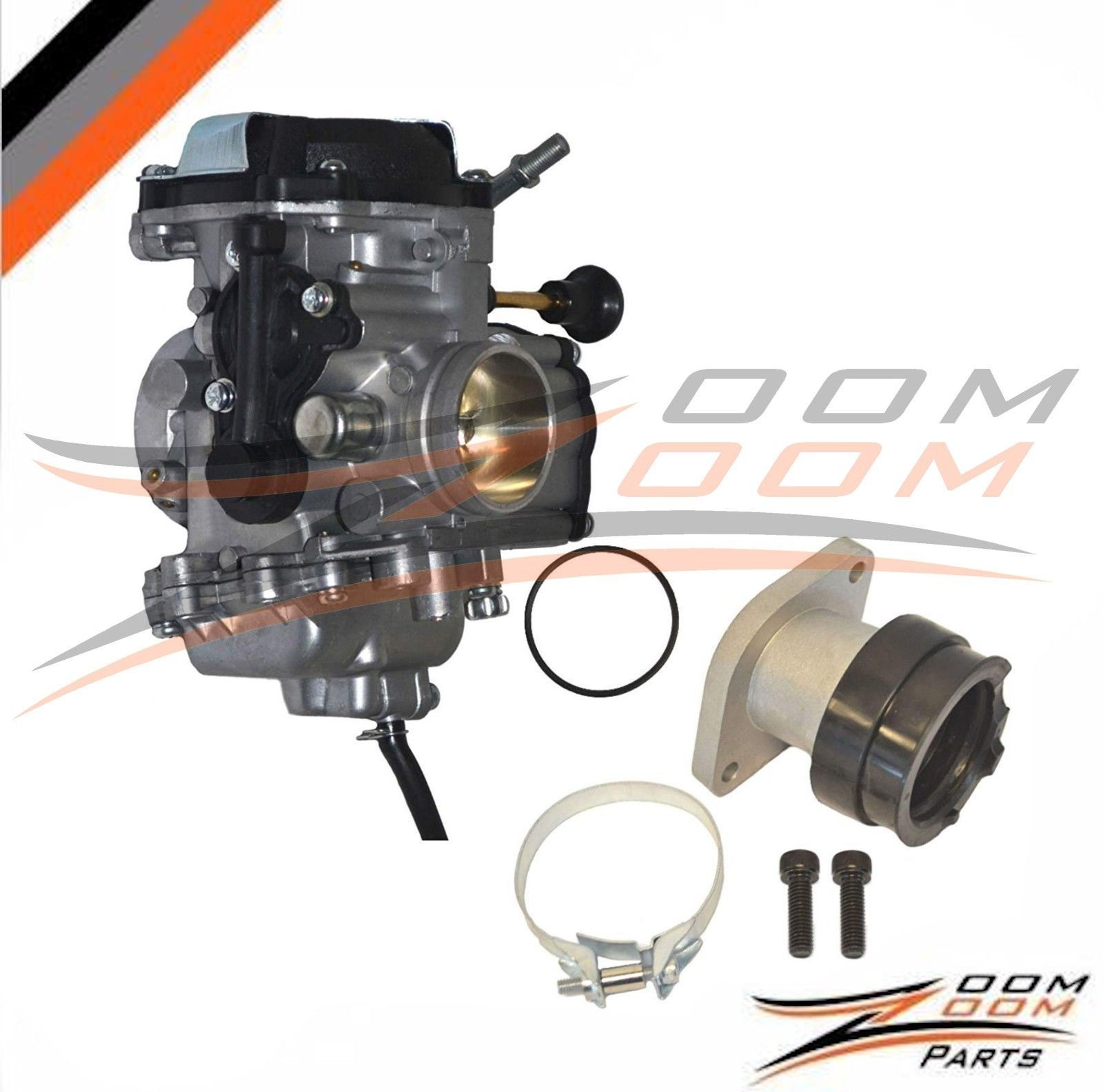 Carburetor Intake For Yamaha Bear Tracker 250 Yfm 250