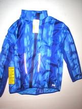 New Womens Under Armour Storm L Dark Blue Jacket Rain Vest Run All Seaso... - $79.60