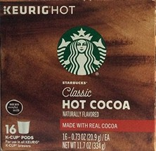 Starbucks Hot Cocoa Keurig K-Cups 16-count BRAND NEW - $20.99