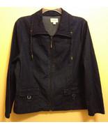 Women's Denim Jean Jacket Size S,  Studio Works, NWT ~NICE! - $29.02