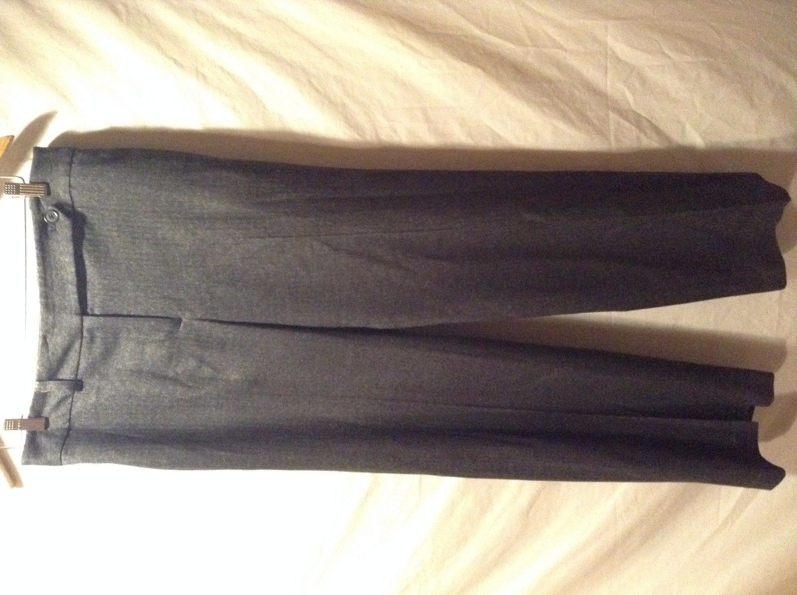 Ann Taylor Black Pants Size 8 Pockets On Back Great Condition