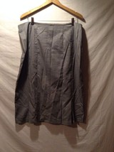 Sag Harbor Black And White Skirt Size 16W Great Used Condition