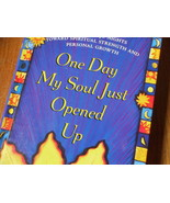 Book - ONE DAY MY SOUL JUST OPENED UP - Iyanla Vanzant - $4.00