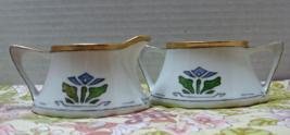 Vintage Z.S. & CO. BAVARIA Art Deco Creamer & S... - $19.00