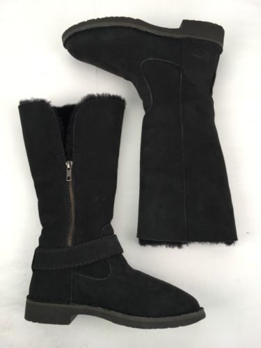 52de3cc5da6 UGG Australia Boots Braiden Tall Leather and 50 similar items