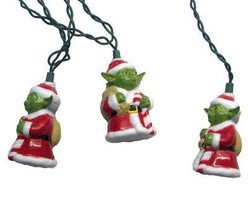 10-Light Star Wars Santa Yoda Light Set by Kurt Adler  - $30.99