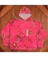 Realtree XTRA Pink Camo Hooded Sweatshirt NWT Size L - $19.30