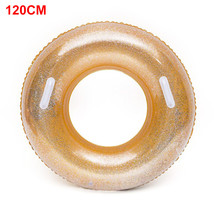 Swimming Ring Wear Resistant Lifebuoy Sequins Pool Accessory Floating Le... - $23.30