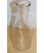 Vintage Southern Dairy Glass Quart & Half Pint ... - $4.95