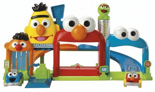 Fisher price sesame street giggle  n go garage