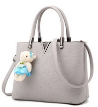 Fashion Leather Handbags Shoulder Bags Large Tote Bags J197-1 - $39.99