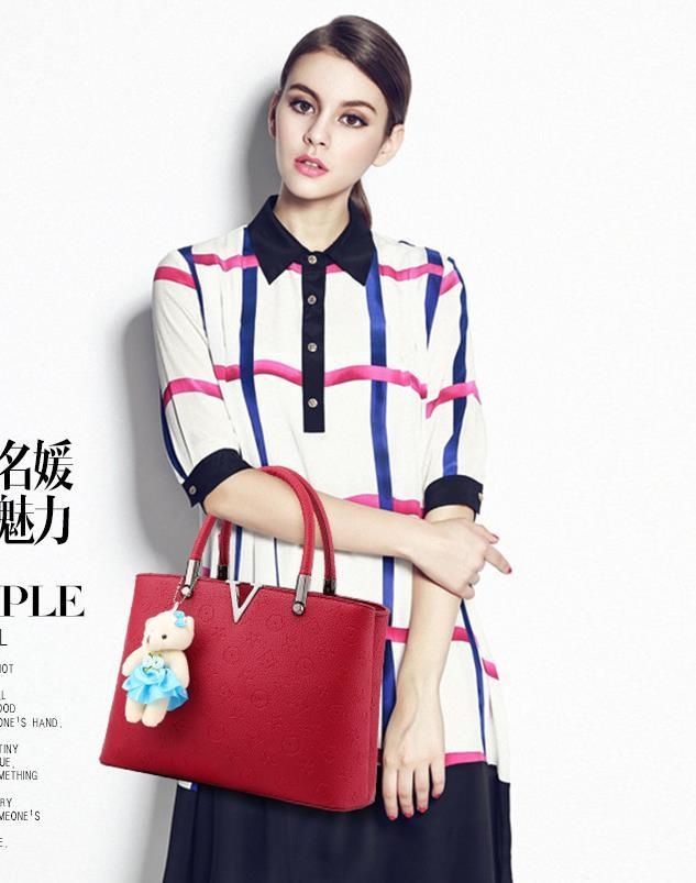 Large Women Leather Shoulder Bags Fashion New Tote Bags,Handbags J197-2
