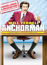Anchorman: The Legend of Ron Burgundy (DVD, 2004, Extended Edition Wides... - €6,10 EUR