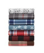 "Cannon Fleece Throw Luxurious Plaid Faux Fur Fleece Blanket 60"" L x 50"" W - £11.09 GBP"