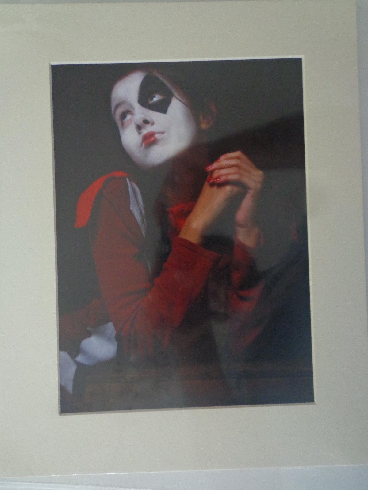 "Digital Photograph Print Series ""Harlequin Puppet"""