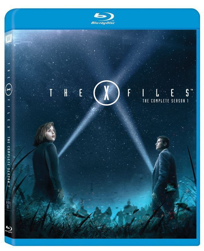 The X-Files - The Complete First Season 1 Blu-ray Disc, 2015, 6-Disc Set NEW