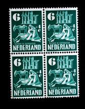 NETHERLANDS STAMPS SC# B216 MNH Block of 4 SEMI POSTAL Mint Never Hinged - $29.99