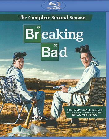 Breaking Bad: The Complete Second Season 2 (Blu-ray Disc, 2010, 3-Disc Set) NEW