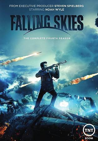 Falling Skies: The Complete Fourth Season 4 (DVD, 2015 3-Disc Set) NEW TV Series