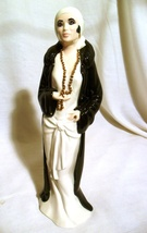 Vintage VOGUE FASHION SOCIETY FLAPPER WOMAN LADY Deco Femme Figurine HAN... - $75.00