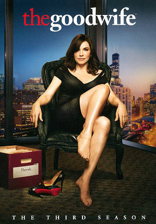 The Good Wife: The Complete Third Season 3 (DVD, 2012, 6-Disc Set) TV Series New
