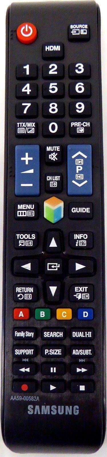 Samsung Remote Control AA59-00582A Smart TV UN32EH4500 UN46ES6100F UN32EH5300