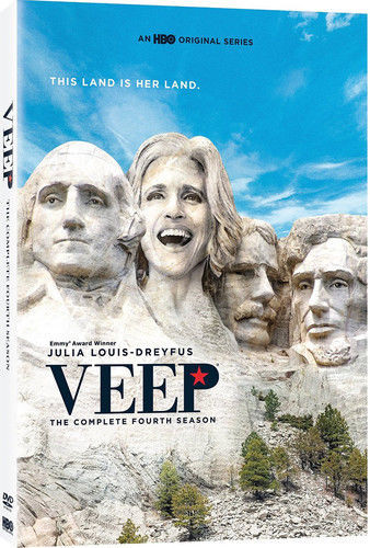 Veep: The Complete Fourth Season 4 (DVD, 2016, 2-Disc Set) NEW