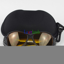 190nm-490nm O.D4+ UV Blue Laser Protective Goggles Safety Glasses CE - $28.03