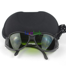 190-450nm&800-1700nm OD4+ Green+IR Laser Protective Goggles Safety Glasses CE - $30.82