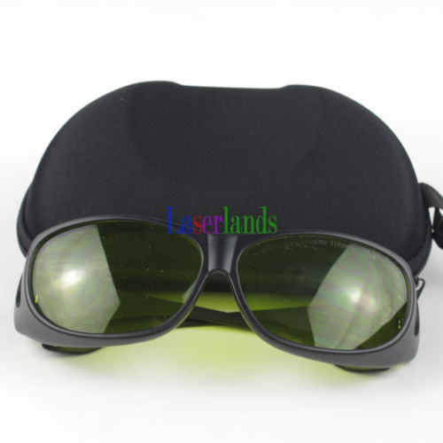 190-450nm&800-1100nm OD4+ Green+IR Laser Protective Goggles Safety Glasses CE - $30.82