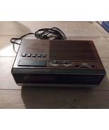 Vintage CosmoFM/AM Electronic Digital Alarm Clock Radio CR2005 Tested W... - $19.79