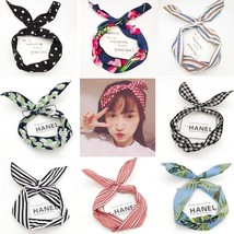 Hair Headband Fashion Is For Women Girls Hair Cute Accessories With Flow... - €4,45 EUR