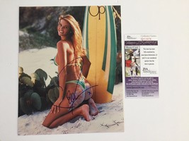 ELLE MACPHERSON SIGNED 8X10 JSA COA PHOTO AUTOGRAPH SPORTS ILLUSTRATED M... - $149.00