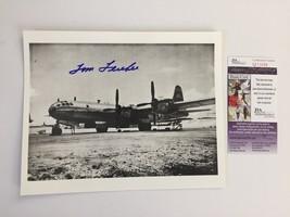 TOM FEREBEE SIGNED 8X10 JSA COA AUTOGRAPH PHOTO ENOLA GAY ATOMIC BOMB HI... - $125.00