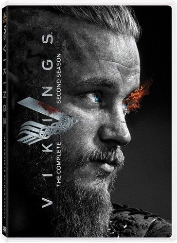 Vikings:Complete Second  Season 2 (DVD, 2014, 3-Disc Set) New TV Series