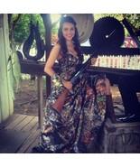 Custom Satin Camo Wedding Dresses A-Line Halter Lace Up Camouflage Brida... - $129.00
