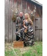 New Cool Camo Wedding Dresses A-Line Halter Camouflage Appliques Bridal ... - $129.00