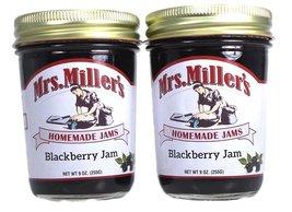 Mrs Millers Blackberry Jam (Amish Made) ~ 2 / 8 Oz. Jars - $14.84