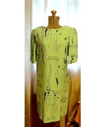 Vintage 1960's 70's Shift Dress LA CHEMISE Butt... - $19.55