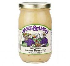 Jake & Amos Real Bacon Dressing, 16 Oz. Jar (Pack of 2) - $20.13
