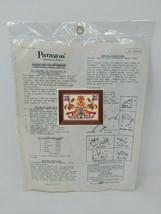 Paragon Pennsylvania Dutch Sampler Cross Stitch Craft Kit VTG 70s 1970s ... - $59.39