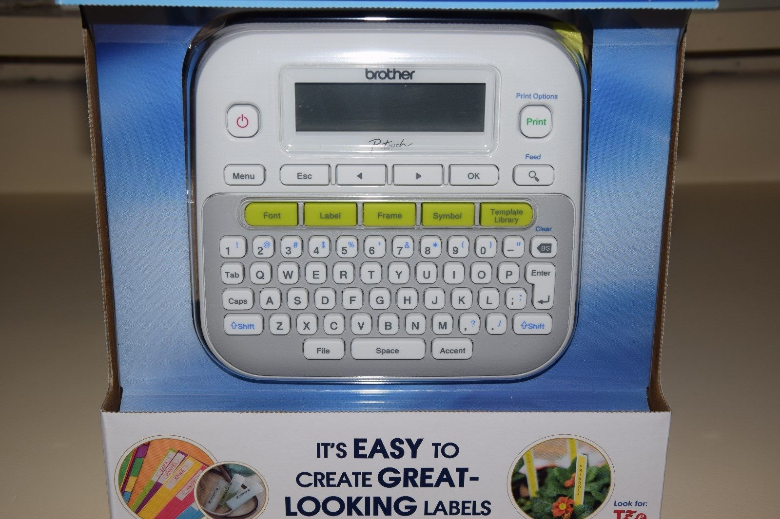 Brother P Touch Pt D210 Label Maker Wit And 14 Similar Items
