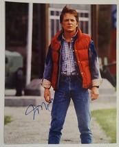 Michael J Fox Hand Signed 8x10 Photo COA Back To The Future - $74.99