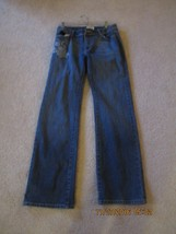 White House Black Market Blanc jeans with flower applique and rhinestones size 8 - $19.99